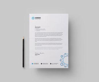 Modern Letterheads Design 002738 - Template Catalog