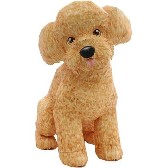 Toy Poodle,Animals,Paper Craft,Europe,Small-size,Mammals ,Animals,dog,Paper Craft,Apricot,dog