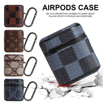 Airpods Wireless Bluetooth Storage Leather Case