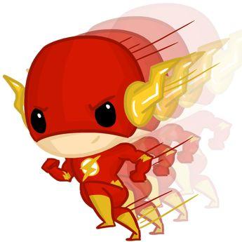 Super Chibis: The Flash/ Wally West by Ijen-Ekusas on DeviantArt