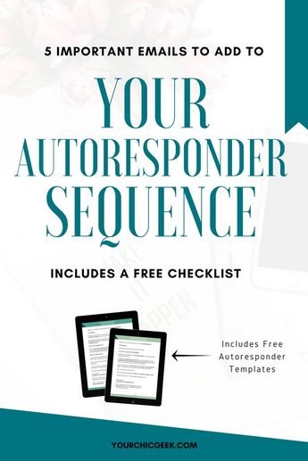 5 Emails to Add to Your Autoresponder Sequence