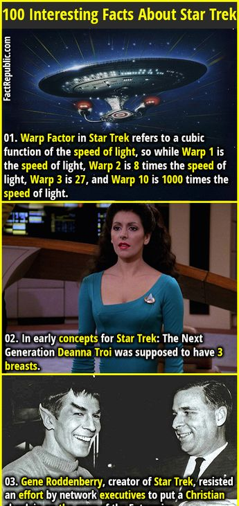 100 Interesting Facts About Star Trek