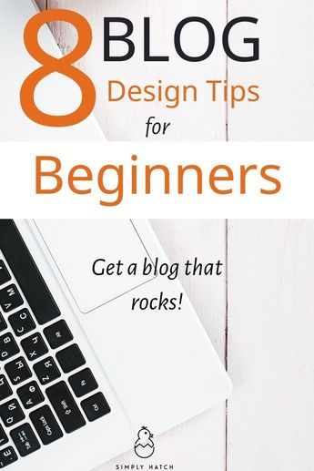 Before choosing your theme, think about good blog design. These blog design tips for beginners will help you get your design right from the word go. #blogdesign