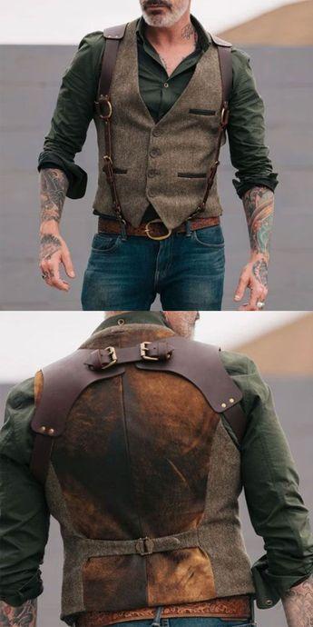 Men's Vest - #Mens #Vest