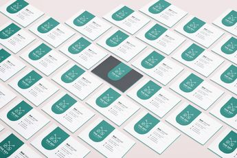 Key Creative Business Card Design Template - Graphic Templates