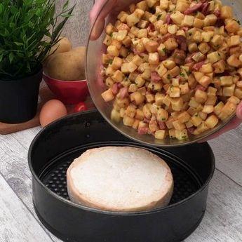 Crunchy gratin, het recept op video van Chefclub