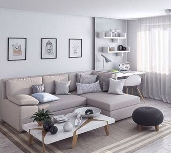 48 Apartment Living Room Design Ideas that You Can Try Now