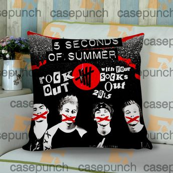 d9a81bf0c73 Sr1-rock Out With Your Socks Out Tour 5 Sos Cushion Pillow Case