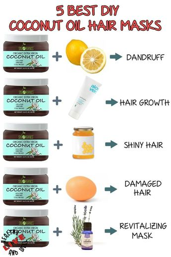 Top Best DIY Coconut Oil Hair Masks for Every Hair Trouble