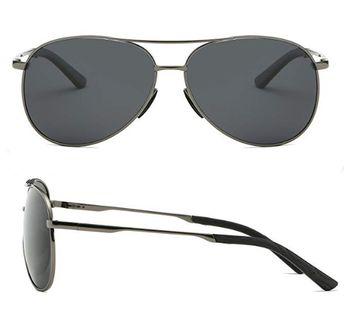 c5835e65a6 Details about Pretty glasses Mens Polarized Aviator Sunglasses Metal Frame  Unisex Sun Glasses