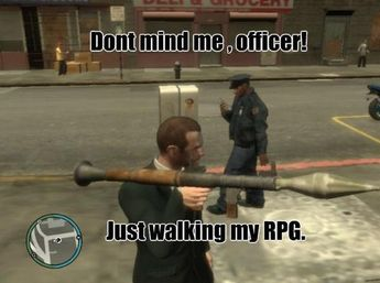 Gun Logic is listed (or ranked) 1 on the list The 23 Funniest Examples of Grand Theft Auto Logic