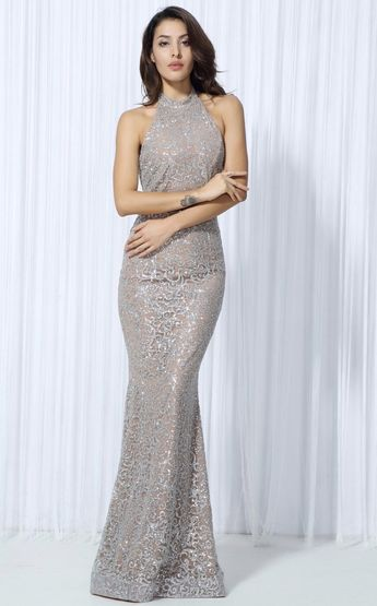 7c4181cb4 Champagne Maxi - Gorgeous high quality dangly sequins- Long