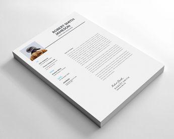 Minimalist Resume Design Template - Graphic Templates