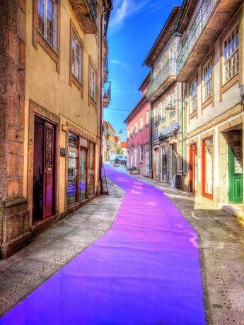 Boa tarde :D Começam a ser instaladas as decorações de rua para a Semana Santa da Páscoa em  Arcos de #Valdevez  - facebook.com/ArcosdeValdevez -