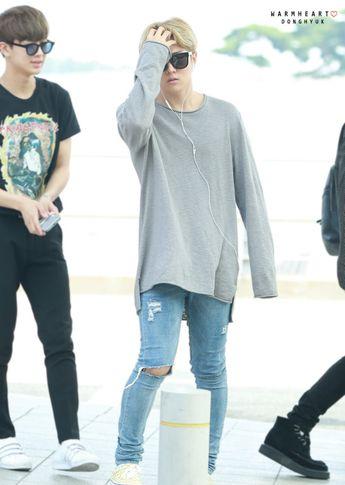 Korean Airport Fashion: Photo