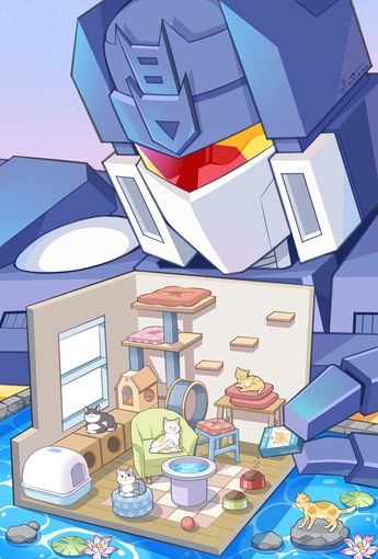 Tfa-transformers animated