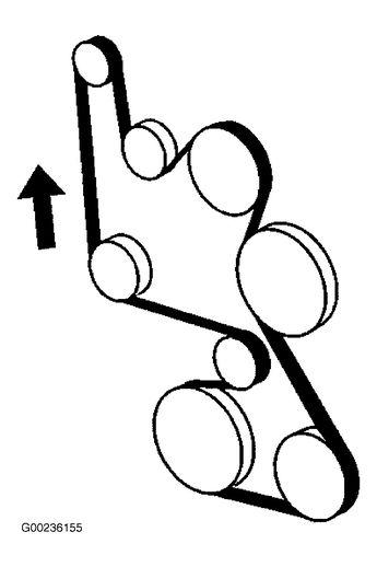 Chevy Serpentine Belt Routing Diagram 2006 Chevrolet Impala