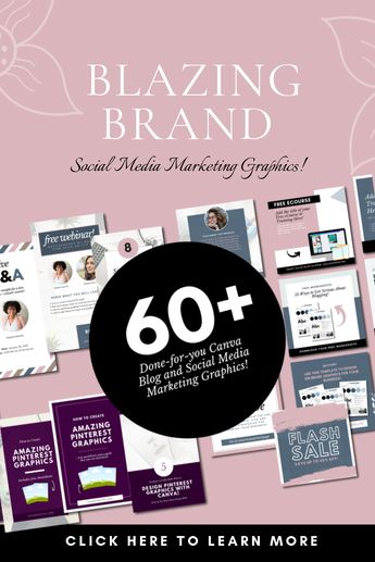 Blazing Graphics Kit (60+ Ready Made Blog & Social Media Marketing Templates) - YourChicGeek