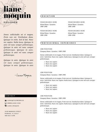 3 page resume teacher resume template for word page resume cover