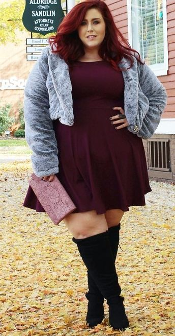 b2917e8182e Plus Size Fashion for Women - Plus Size Fall Outfit Idea  Plussize  ootd
