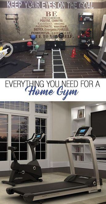 Home gym spaces ideas 00081