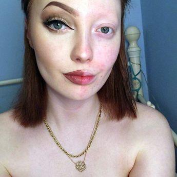 Girl Behind Empowering Half Make-up Selfies Is Branded Ugly By Internet Trolls