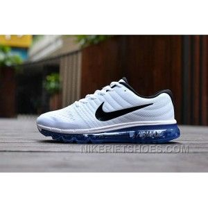 buy online fcf40 06c7f Authentic Nike Air Max 2017 White Black Royal Blue New Release TzfzS