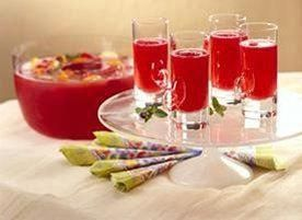 merry mimosas (non-alcoholic, replace wine with sparkling grape juice) #nonalcoholicwine