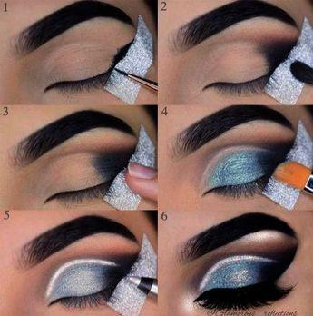 Black Smokey Eye Tutorial Easy. Smokey Eye Makeup Tips In Hindi it is Glitter Sm #hair #love #style #beautiful #Makeup #SkinCare #Nails #beauty #eyemakeup #style #eyes #model #MakeupMafia #NaturalBeauty #OrganicBeauty