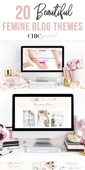 20 Beautiful Feminine Blog Themes For An Outstanding Site