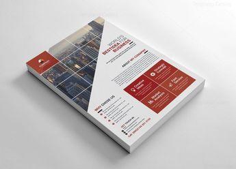 Energy Creative Flyer Design - Graphic Templates