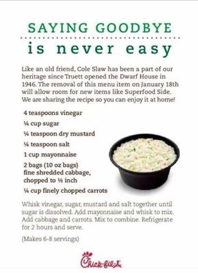 Chick-fil-A Coleslaw Recipe, Lightly Sweet, Creamy & Oh So Good
