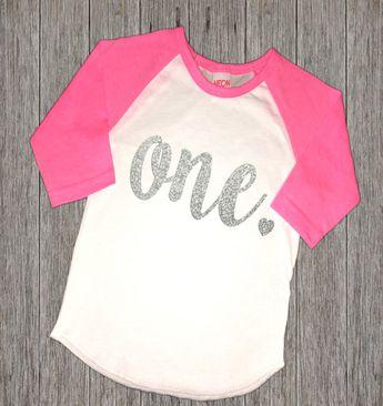 First Birthday Girl Shirt