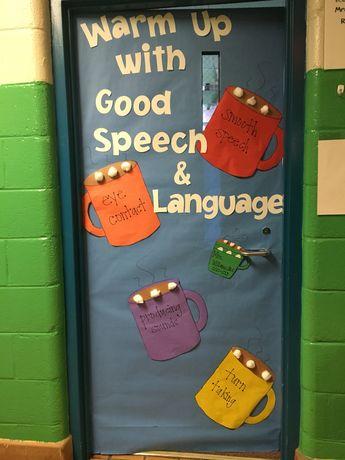 Winter Speech Bulletin Board