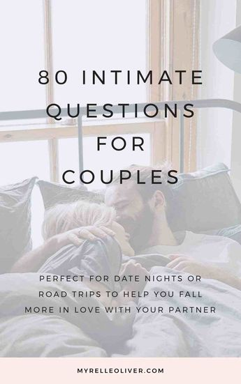 80 Intimate Questions for Couples