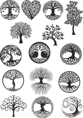 Vector ornament, decorative Celtic tree of life Vector,tree digital file,tree dxf,tree cdr,tree ai , tree,tree of life