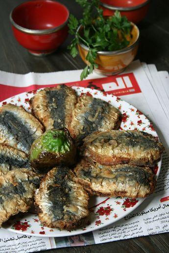 Sardines chermoula à la marocaine - Passion culinaire by Minouchka