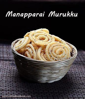 Manapparai Murukku