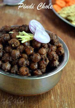 Pindi Chole Recipe   Rawalpindi Chana Masala ~ Indian Khana