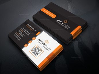 Stylish Business Card Design Template in EPS Format - Graphic Templates