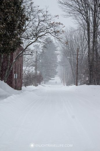 Scenes from A New England Winter in Bethel Maine