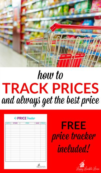 how to track prices so you always get the best price a s