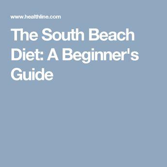 The South Beach Diet: A Beginner's Guide