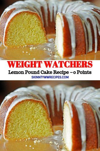 Weight Watchers Freestyle Lemon Pound Cake Recipe – 0 Points // #WeightWatcher #Healthy #SkinnyRecipes #Recipes #Smartpoints #Lemon #Cake #LowCarb #WeigthWatchersRecipes