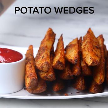 The Most INCREDIBLE Potato Wedges