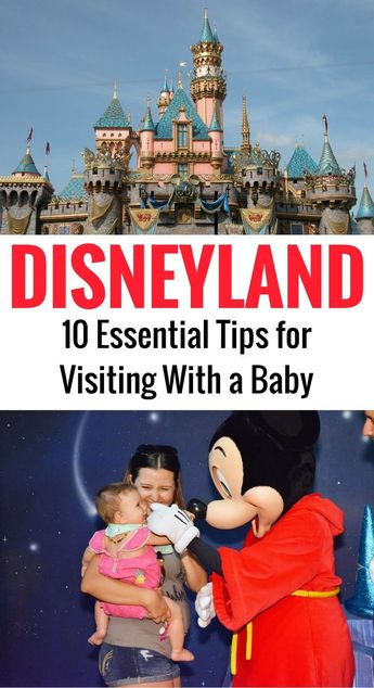 10 Ultimate Tips for Disneyland with a Baby
