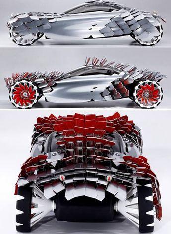 13 Strangest Concept Cars - concept cars, strange cars