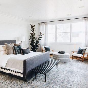 49 Cozy Bedroom Interior Design with Plants