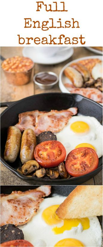 The full English breakfast is England's favorite way to start the day. With all your favorite breakfast items and a few you may not be familiar with, I'm going to take through all the components of a traditional full English (as we call it).