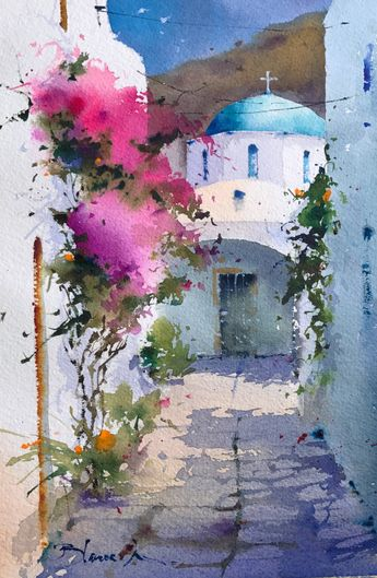 Blanca Alvarez watercolors – Blanca Álvarez – WATERCOLORS